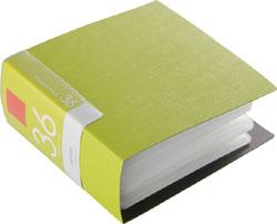 BSCD01F36GR (CD/DVDファイル/ブックタイプ/36枚収納/グリーン)