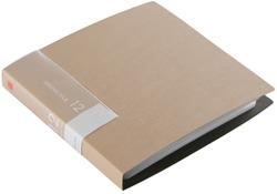 BSCD01F12BG (CD/DVDファイル/ブックタイプ/12枚収納/ベージュ)