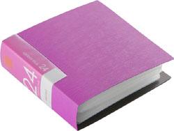 BSCD01F24PK (CD/DVDファイル/ブックタイプ/24枚収納/ピンク)