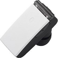 BSHSBE23WH(ホワイト)【マイク対応】【USB充電ケーブル付】 片耳ヘッドセット