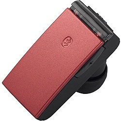 BSHSBE23RD(レッド)【マイク対応】【USB充電ケーブル付】 片耳ヘッドセット