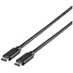 BUFFALO(バッファロー) 1.0m[USB-C ⇔ USB-C]3.1 Gen1ケーブル 転送 ブラック BSUCC31110BK