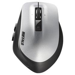 BSMLW500MSV(シルバー) 無線レーザーマウス [2.4GHz・USB・Win/Mac] BSMLW500Mシリーズ (5ボタン・シルバー)
