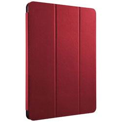 10.5インチiPad Pro用 レザーケース 3アングルスタンド フラップモデル レッド BSIPD1710CLFRD