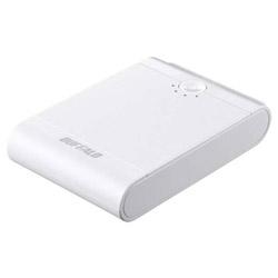 BSMPB13418P2 モバイルバッテリー ホワイト [13400mAh /2ポート /microUSB /充電タイプ]