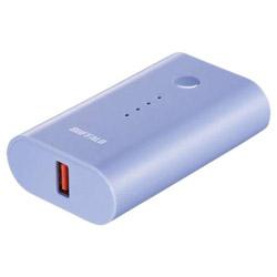 BSMPB6728P1 モバイルバッテリー ブルー [6700mAh /1ポート /microUSB /充電タイプ]