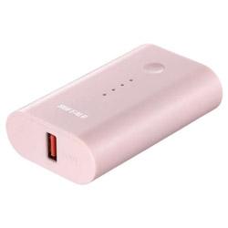 BSMPB6728P1 モバイルバッテリー ピンク [6700mAh /1ポート /microUSB /充電タイプ]