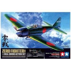 1/32 エアークラフトシリーズ No.11 零戦52型 リアルサウンド・アクションセット