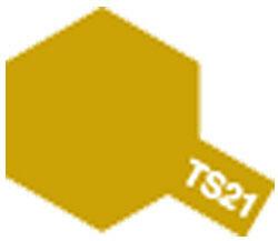 タミヤカラースプレー TS-21 ゴールド