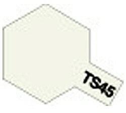 タミヤカラースプレー TS-45 パールホワイト