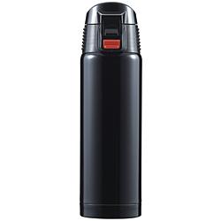ジール ワンプッシュ式 携帯マグ 500ml ブラック F-2443
