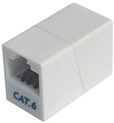 カテゴリー6準拠 マグネット付 LAN中継アダプタ CAT-866M