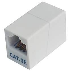 CAT-855M カテゴリー5e マグネット付 LAN中継アダプタ