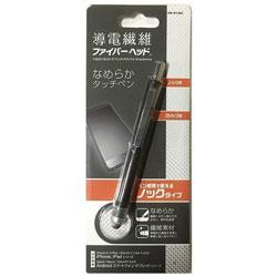 ミヨシ 〔タッチペン〕 ノック式タッチペン ブラック SB01BK 【ビックカメラグループオリジナル】
