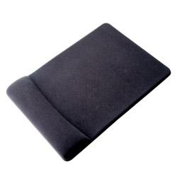 GBZ01BK ハンドレスト付マウスパッド[低反発・黒]