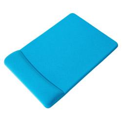 GBZ01LB ハンドレスト付マウスパッド[低反発・ライトブルー]