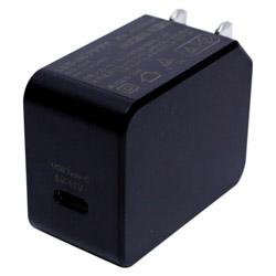 USB PD対応USB-ACアダプタ 20W(Type-C 1ポート)黒 IPA-C04/BK