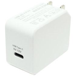 USB PD対応USB-ACアダプタ 20W(Type-C 1ポート)白 IPA-C04/WH