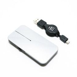 SRM-MA02/SL マウス 薄型 シルバー [BlueLED /3ボタン /USB /有線]