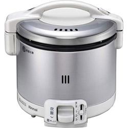 RR-030FS-W_LP ガス炊飯器 グレイッシュホワイト [3合 /プロパンガス]