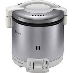 RR-050FS-W_LP ガス炊飯器 グレイッシュホワイト [5.5合 /プロパンガス]
