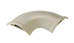 床用モール 平面曲がり 両面テープ付 幅60mm(ベージュ) LD-GAM47A