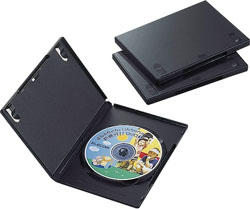 CCD-DVD01BK(DVDトールケース/3枚パック/ブラック)