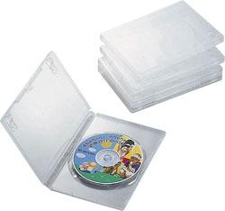 CCD-DVD02CR(DVDトールケース/5枚パック/クリア)