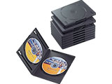 CCD-DVD06BK (DVDトールケース2枚収納タイプ/10枚パック/ブラック)