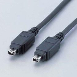 IE-441BK (IEEE1394ケーブル/4ピンオス⇔4ピンオス/ブラック/1.0m)