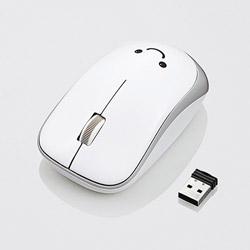 ワイヤレスIR LEDマウス[2.4GHz・USB・Mac/Win/PS5対応] M-IR07DRシリーズ (3ボタン・ホワイト) M-IR07DRWH