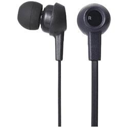bluetooth イヤホン カナル型 ブラック LBT-HPC12MP [リモコン・マイク対応 /ワイヤレス(左右コード) /Bluetooth]
