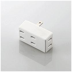 フロントタップ ホワイト T-CTR02-2300WH [直挿し /3個口 /スイッチ無]