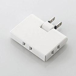 コーナータップ ホワイト T-CTR03-2300WH [直挿し /3個口 /スイッチ無]