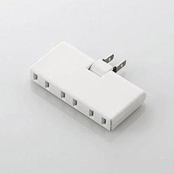 アンダータップ(2ピン式・3個口・ホワイト) T-CTR05-2300WH