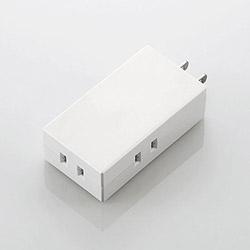 モバイルタップ(2ピン式・3個口・ホワイト) T-CTR06-2300WH
