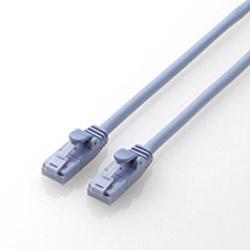 カテゴリー6対応 LANケーブル ツメ折れ防止 (ブルー・0.5m) LD-C6T/BU05