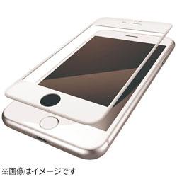 iPhone 8 フルカバーフィルム 反射防止 防指紋 PM-A17MFLFRWH
