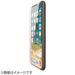 iPhone X用 ガラスフィルム 0.33mm PM-A17XFLGG