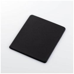 マウスパッド[150x180x4mm]ソフトレザー/Sサイズ/ブラック MP-SL01BK