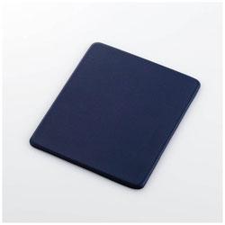 マウスパッド[150x180x4mm]ソフトレザー/Sサイズ/ネイビー MP-SL01NV