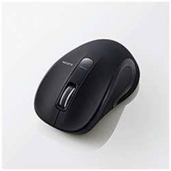 M-BT18BBBK ワイヤレスBlueLEDマウス[Bluetooth・Mac/Win]Salalシリーズ Mサイズ(3ボタン・ブラック)