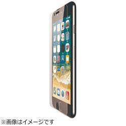 iPhone 8 ガラスフィルム 0.33mm ブルーライトカット PM-A17MFLGGBL
