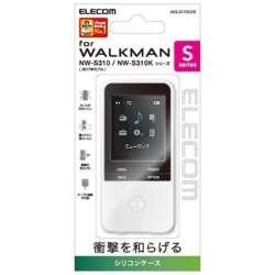 Walkman Sシリーズ用シリコンケース(クリア) AVS-S17SCCR