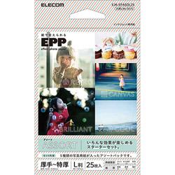 EJK-EFASOL25 写真用紙/エフェクトフォトペーパー/アソート/L判/25枚