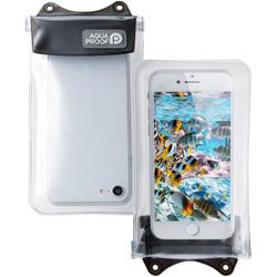 スマートフォン用[幅 67mm/4.7インチ]防水ケース オールクリア P-WPSAC01BK