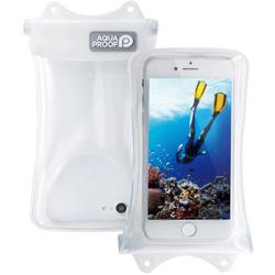 スマートフォン用[幅 67mm/4.7インチ]防水ケース 水没防止タイプ P-WPSF01WH