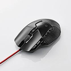 ELECOM(エレコム) M-G02URBK 有線光学式ゲーミングマウス [USB/16000dpi/13ボタン/ブラック]