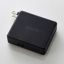 DE-AC01-N5824 モバイルバッテリー ブラック [5800mAh /2ポート /充電タイプ]