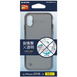 iPhone XS用 5.8 ハイブリッドケース PM-A18BHVCBK